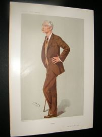 Vanity Fair Print 1906 Maj Ronald Bertram Lane